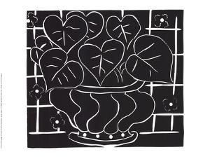 Basket of Begonias by Henri Matisse