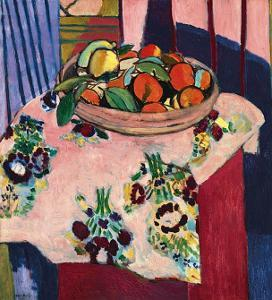 Basket with Oranges by Henri Matisse