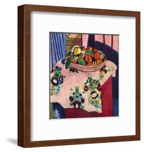 Basket with Oranges by Henri Matisse