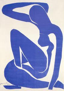 Blue Nude I, c.1952 by Henri Matisse