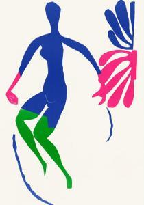 Blue Nude with Green Stockings by Henri Matisse