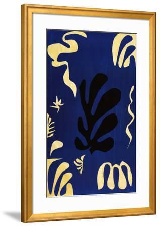 Composition Fond Bleu by Henri Matisse