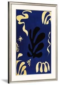 Composition Fond Bleu by Henri Matisse