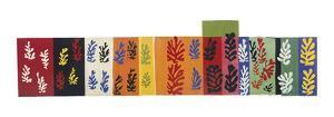 Composition (Les Velours), 1947 by Henri Matisse