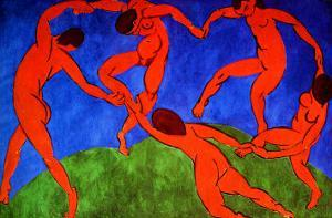 Dance, 1910 by Henri Matisse
