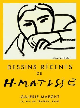 Dessins Recents, 1952