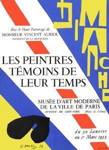 Expo 53 - Musée d'Art Moderne by Henri Matisse