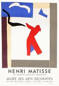 Expo 61 - Musée des Arts Décoratifs by Henri Matisse