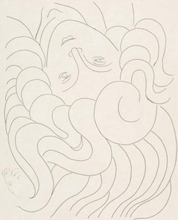 Female Head, 1930-32 by Henri Matisse