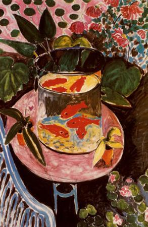 Gold Fish by Henri Matisse