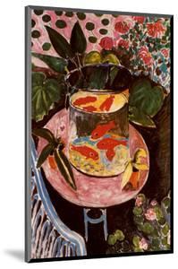 Gold Fish by Henri Matisse