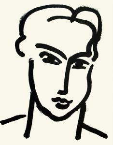 Grande Tete De Katia by Henri Matisse