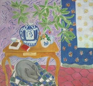 Interior with a Dog, 1934 by Henri Matisse