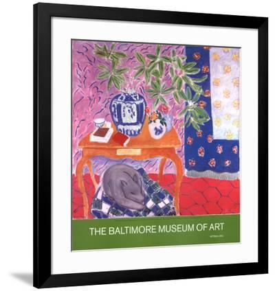 Interior with Dog by Henri Matisse