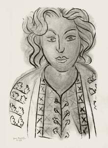 Jeune Femme by Henri Matisse