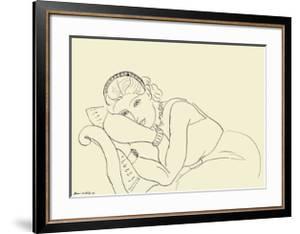 Jeune Fille avec Tiare by Henri Matisse