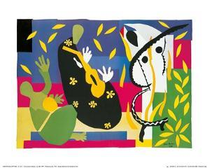 King's Sadness, c.1952 by Henri Matisse