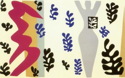 Knife Thrower by Henri Matisse