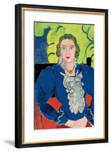 La Blouse Bleue, c.1936 by Henri Matisse
