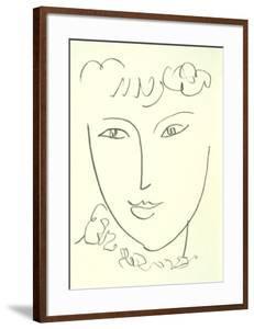 La Pompadour, 1951 by Henri Matisse