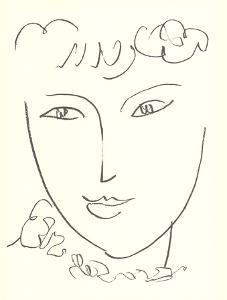 La Pompadour (No text) by Henri Matisse
