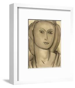 Madame Lucienne Bernard, c.1946 by Henri Matisse