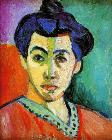 Madame Matisse by Henri Matisse