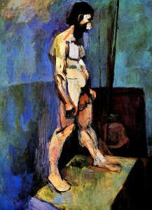 Male Nude Model by Henri Matisse