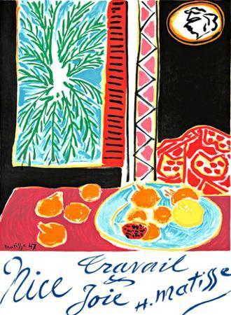 Nice / Travail & Joie / Work & Joy, Matisse, 47 by HENRI MATISSE