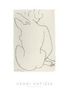 Nu Accroupi de Dos by Henri Matisse
