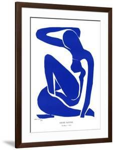 Nu Bleu I, c.1952 by Henri Matisse