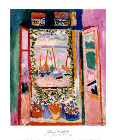Open Window, Collioure, 1905