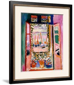 Open Window, Collioure, 1905 by Henri Matisse