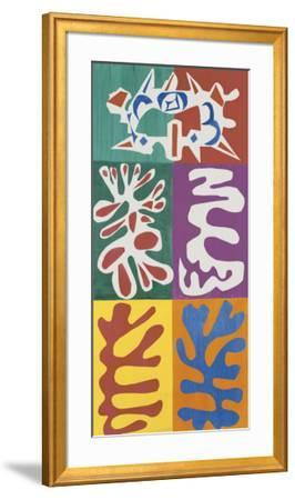 Panel with Mask, c.1947 by Henri Matisse