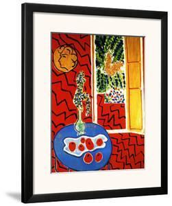 Red Interior by Henri Matisse