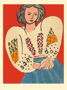 Romanian Blouse (La Blouse Roumaine) by Henri Matisse