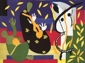 Sadness of the King by Henri Matisse