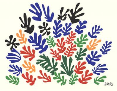 Spray of Leaves by Henri Matisse