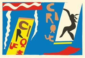 The Circus (Le Cirque) - from the Illustrated Book Jazz by Henri Matisse