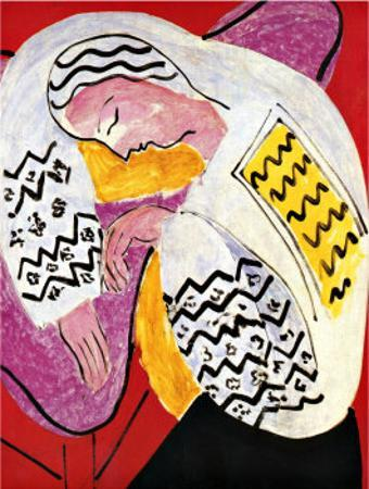 The Dream by Henri Matisse