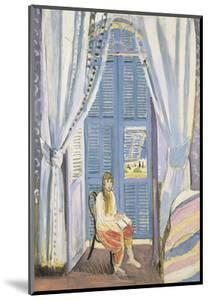 The French Window at Nice, Late 1919 by Henri Matisse