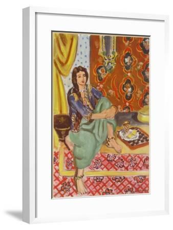 The Odalisque by Henri Matisse