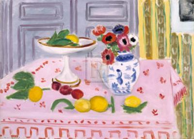 The Pink Tablecloth, c.1925 by Henri Matisse