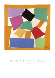 The Snail by Henri Matisse
