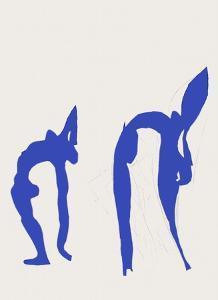 Verve - Acrobates by Henri Matisse