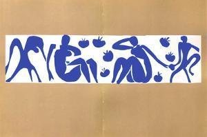 Verve - Femmes Et Singes by Henri Matisse