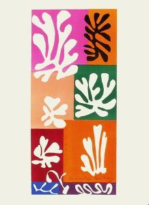 Verve - Fleurs de neige by Henri Matisse