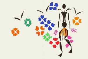 Verve - La Négresse by Henri Matisse