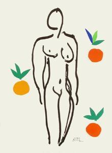 Verve - Nu aux oranges by Henri Matisse