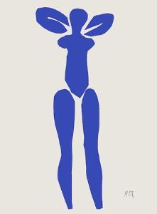 Verve - Nu bleu I by Henri Matisse
